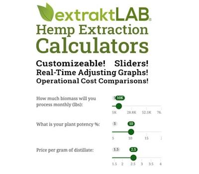 calculator layout from extraktLAB