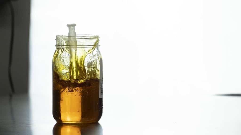 Delta 8 distillate jar