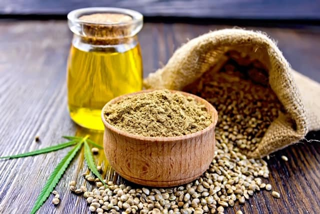 Industrial Hemp seed and oil