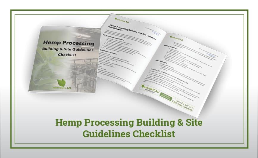 Hemp Processing Building & Site Guidelines Checklist