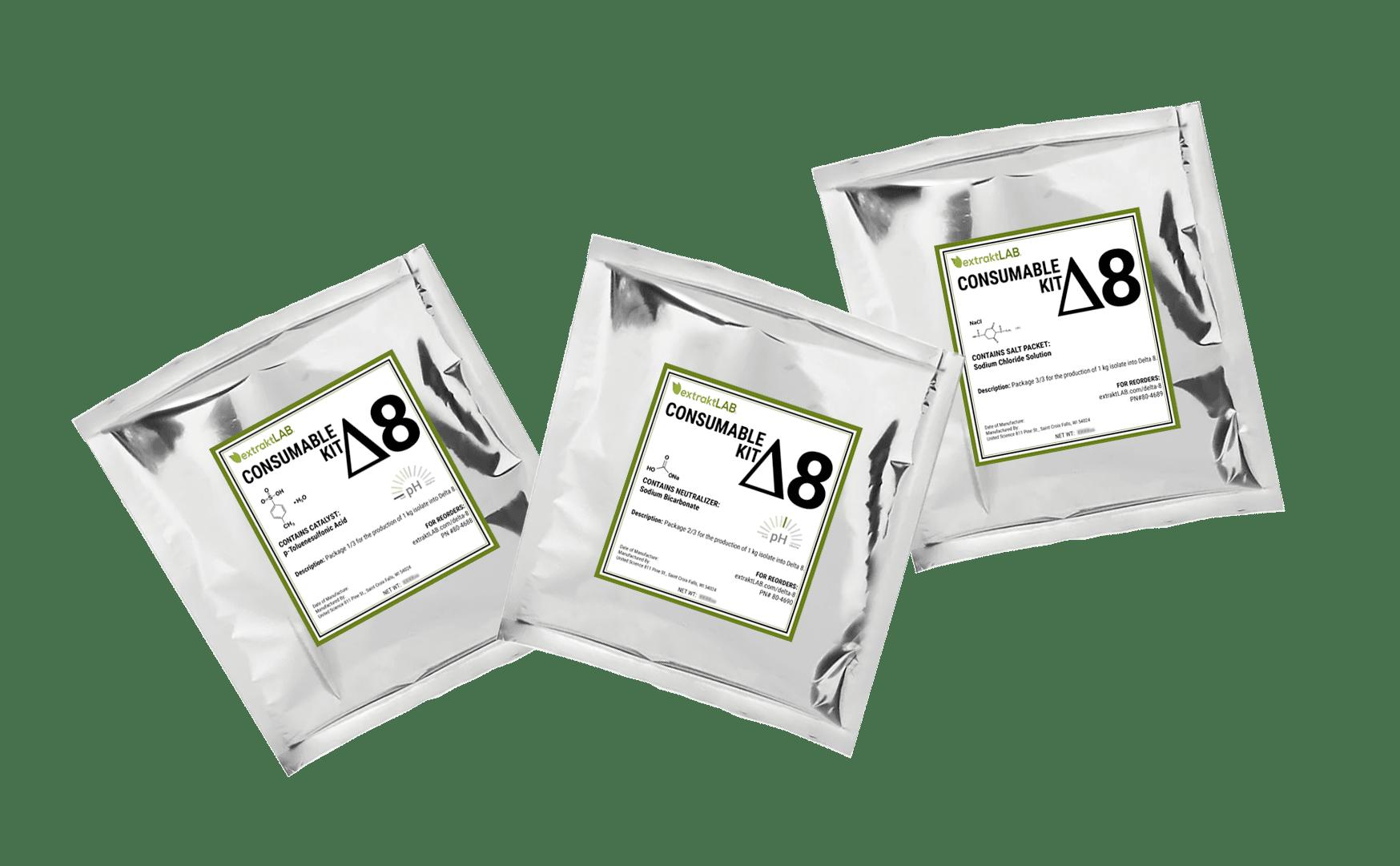 Delta 8 Consumable Kit