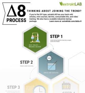Delta 8 Process Infographic